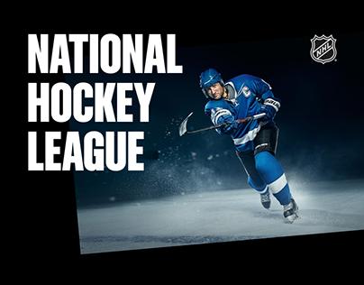 NHL - redesign website