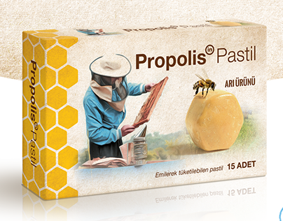 Propolis Ambalaj Tasarımı Package Design
