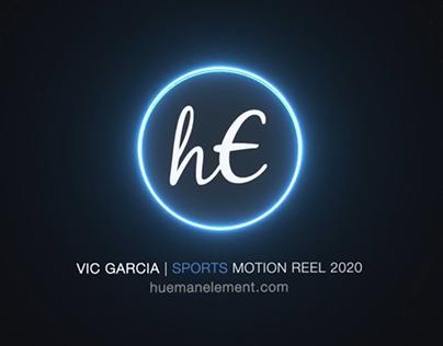 Vic Garcia Sports Motion Showreel 2020