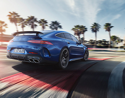 Life is a race – the Mercedes-AMG GT 4 door Coupe.