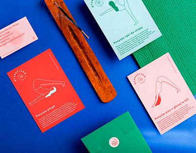 Przestrzen Yoga Branding