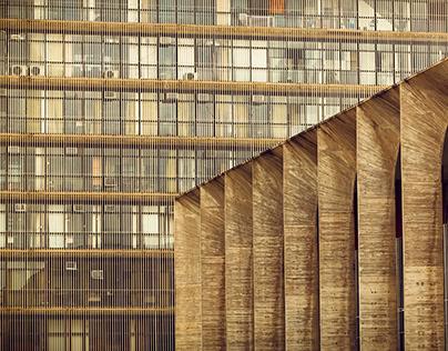 Traços e Formas de Brasília: Palácio do Itamaraty