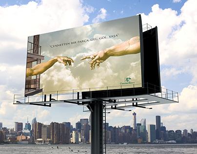 Cennet Koru Billboard Design