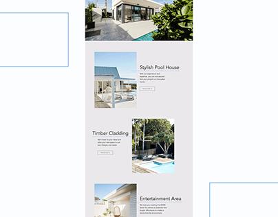 Builders / Real Estate Landing page
