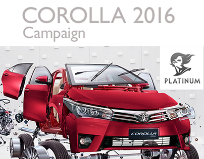 COROLLA CAMPAIGN 2016 / Platinum FMD