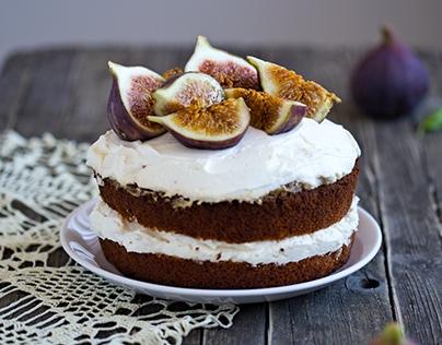 Honey Fig Cake