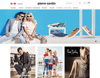 Project website ecommerce Pierre cardin