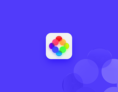 App icon using Adobe Dimension