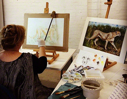 Anne Corless watercolour video at Jacksons Art Supplies