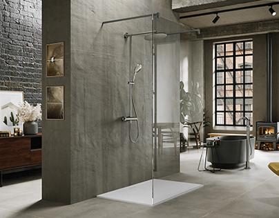 Modern Industrial style loft - Huber Italia faucets