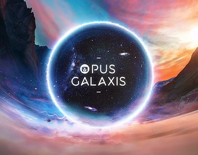 Opus Galaxis –Desktopography 2016