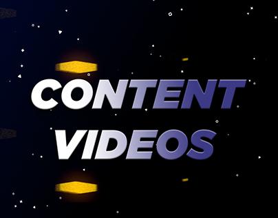 Content Videos