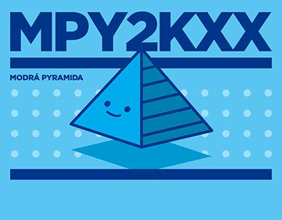 MODRA PYRAMIDA Y2KXX