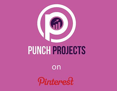 Pinterest graphic design for online marketing agency