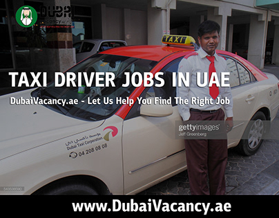 Driver Jobs in Dubai