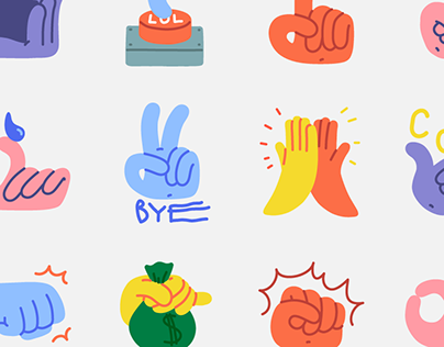 Handy Hands - Snapchat Stickers