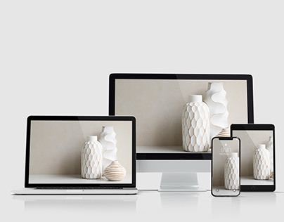 Multi Devices Website Mockup