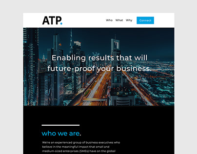 Access to Power Website Design Mockup