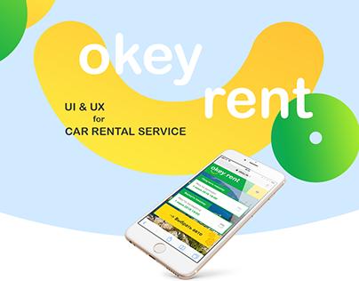 Car Rental Website UI&UX