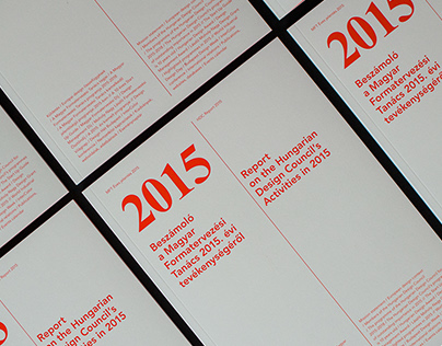 ANNUAL REPORT Hungarian Design Council 2015