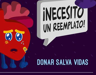 Campaña de donación de órganos