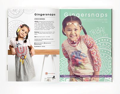 Gingersnaps' Mini Magazine