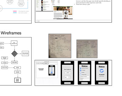 Moible Wireframes