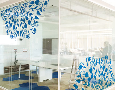 Space Design (Glass) - Udaipur Jio Office