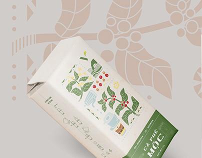 [Vietblend] Coffee Packaging Design
