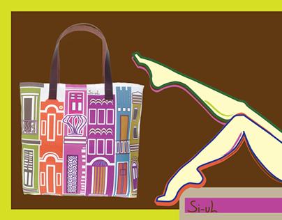 Si-uL Tote Bags