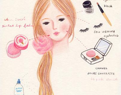 [Fashion illustration] Miruko's Date-look