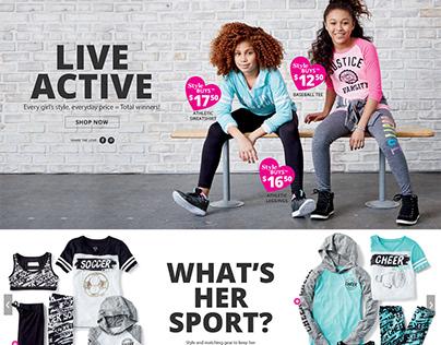 Justice - Active Shop