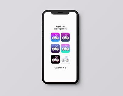 Daily UI # 5 App Icon