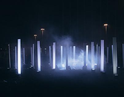 Pillars - Light Monument