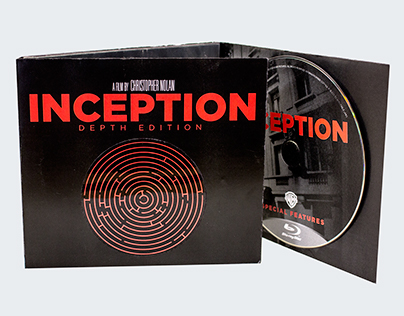 Inception : DEPTH Edition DVD Packaging