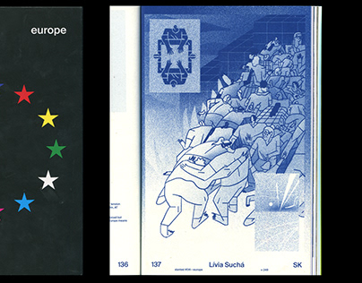 illustration for slanted 34 Europe