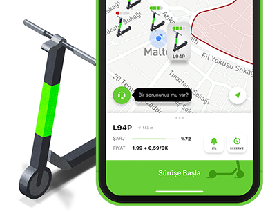 Martı App Redesign iOS App / Brand