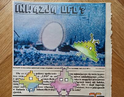 pixels or UFO?