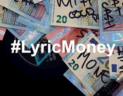 #LyricMoney | Art Intervention