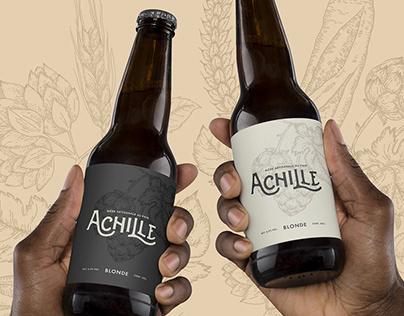 Brand identity | Achille Craft Beer