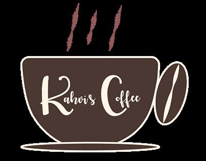 Kahvi's Coffee Logo & Menu/Product Icons