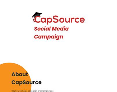 CapSource Social Media Campaign
