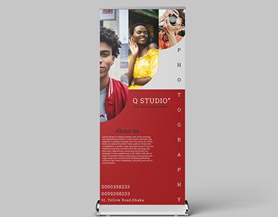 Roll-Up Banner Q-STUDIO