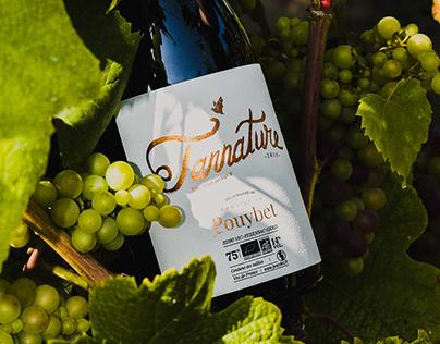Tannature - Wine label design process