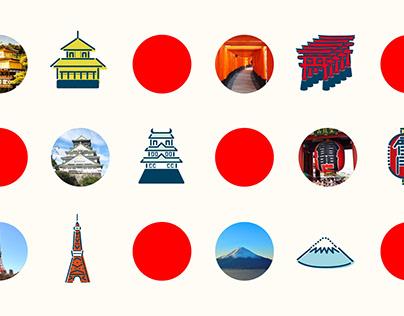 Icon sets : Japan