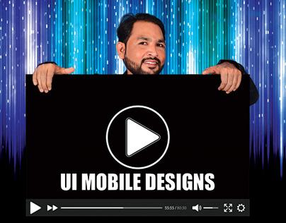 UI Mobile Designs