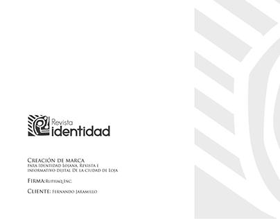 Brand - Revista Identidad Lojana