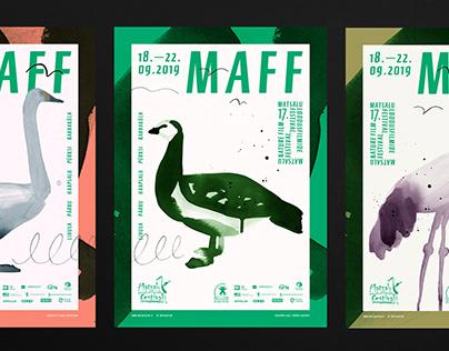 MAFF 2019 visual identity