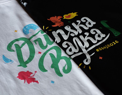 T-Shirt Drinska Bajka for NEOPIX