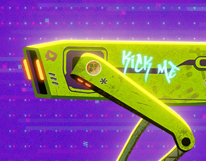 Cyberspot 2077 | Animation
